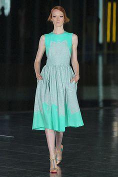 Jonathan Saunders Spring 2012 #fashionweek