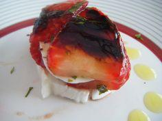 De mi cocina a tu mesa: milhojas de fresas Y mozzarella