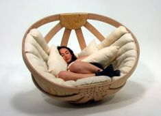 Adult Cradle, reading nest. For Dee ;)
