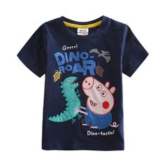Boys Short Sleeve Cotton T-shirt with Embroidery, Navy 4 to 5 Years. Fabric: 95% cotton Use the best air mail, usually 15 days delivery, can be checked by USPS. Size in age: 18/24m-2/3y-3/4y-4/5y-5/6y. Size in height: 92cm-98cm-104cm-110cm-116cm. Hand wash with cool water. Comfortable to wear.Suitable for casual wear.