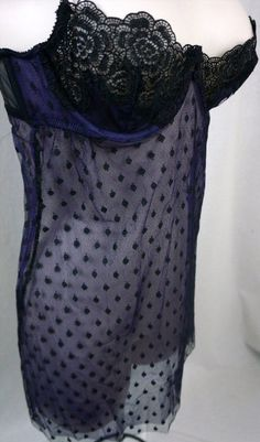 21.56$  Watch here - http://vilrr.justgood.pw/vig/item.php?t=2z4jls54498 - Victorias Secret Size 34C Very Sexy Sheer Gothic Lace Lingerie Babydoll Gown