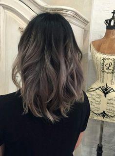 Hair Color And Cut, Cool Hair Color, Brown Hair Colors, Brown Hair Balayage, Hair Highlights, Cabelo Ombre Hair, Dream Hair, Dark Hair, Hair Looks