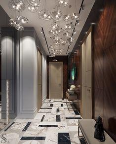 Enhance Your Senses With Luxury Home Decor Luxury Home Decor, Luxury Interior, Home Interior Design, Luxury Homes, Floor Design, Ceiling Design, Dream Home Design, House Design, Lobby Interior