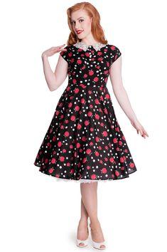 Bnwt Rock Flattering 50s Style Cherry Blue Skirt Sz 22 V Banned Fragrant Flavor In