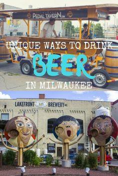 Unique Ways to Drink Beer in Milwaukee, Wisconsin