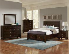 Bonanza Queen Bedroom Group by Vaughan Bassett