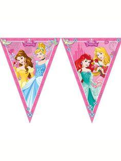 Disney Princess Storybook Flag Banner