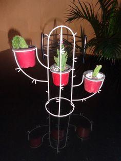 suporte de plantas - cacto