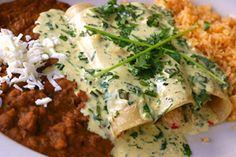 Seafood Enchiladas from CDKitchen.com
