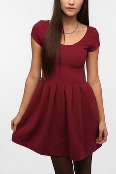 Pins And Needles Textured Circle Dress  #UrbanOutfitters $69