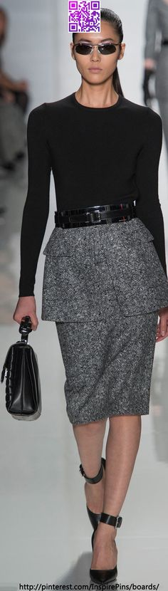 Fall 2013 Ready-to-Wear Michael Kors  | KeepSmiling | BeStayBeautiful