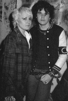Lorna Doom & Darby Crash (Germs)