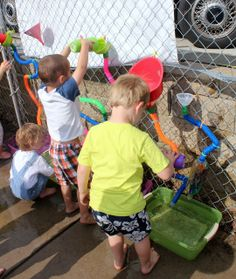 Treasures of the Heart Preschool and Child Care: New Water Wall