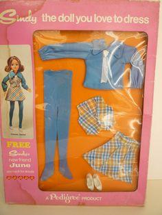 Pedigree Sindy Boxed Checker Decker Outfit 12S212 | eBay