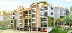 Devashri real estate developers has brought a new residential concept to be located at Porvorim of Goa. They are offering 2,3 BHK apartments with numerous amenities. The project is introduced as Devashri Greens with the price range of 49.09 Lacs to 74.98 Lacs.