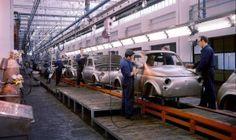 Fiat 500's being born