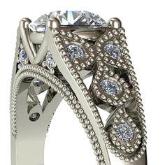 1a9e35e87bfa 22 imágenes increíbles de Anillos Con Diamantes De Compromiso ...