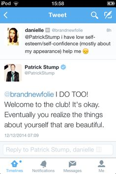 Patrick is perfect. NO ONE CAN ARGUE WITH ME. NO. ONE.