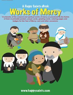 Happy Saints Works of Mercy eBook Review