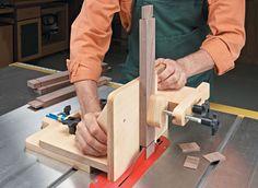 Adjustable Tenoning Jig | Woodsmith Plans