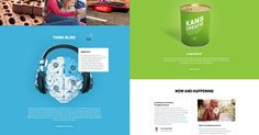 Think Blink corporate website - Site of the Day May 23 2015
