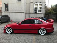 BMW E36 M3 with #FANCYWIDE rear diffuser.