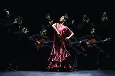 Proud Flamenco Dancer fine art oil painting of Spanish National Ballet Ana Moya
