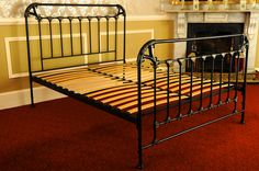 Celtic Black Hand Painted - celtic beds