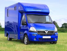 Blue Small Horsebox Aeos 3.5 tonne by Kevin Parker Horseboxes