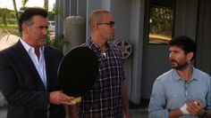 "Burn Notice 5x15 ""Necessary Evil"" - Sam Axe (Bruce Campbell), Jesse Porter (Coby Bell) & William Resnick (Rick Gomez)"