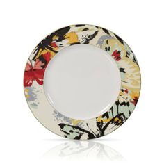 Mikasa Modern Butterfly 10-1/2-Inch Dinner Plate by Mikasa. $16.99. 1 Mikasa Modern Butterfly 10-3/4-Inch Dinner Plate. Porcelain dinnerware. Clay - Porcelain. Butterflies adorn porcelain dinnerware in a variety of vibrant, updated hues. Dishwasher and microwave safe. Mikasa Modern Butterfly brings the splendor of the winged beauty into the 21st century. Butterflies adorn porcelain dinnerware in a variety of vibrant, updated hues.