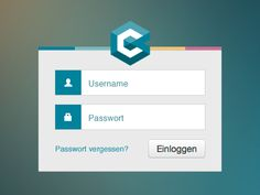 Login design found on Dribbble. Really agree with one of the commenters that the button should be flat also.