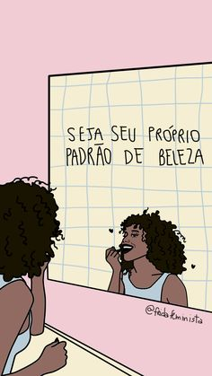 Portuguese for Be Your Own Standard of Beauty Motivational Phrases, Inspirational Quotes, Power Girl, Girls Be Like, Self Esteem, Self Love, Love You, Messages, Thoughts