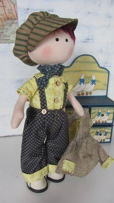 Muñeco de tela muñeco hecho a mano muñeco de trapo regalo
