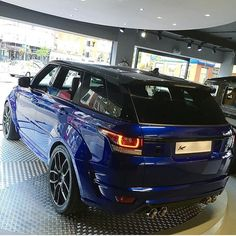 Khan Range Rover svr Audi Sportback, Range Rover Svr, Road Rage, Land Rovers, Sexy Cars, Car Manufacturers, Toys For Boys, Motor Car, Cars And Motorcycles