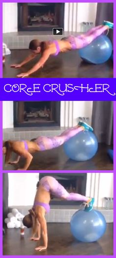 CORE CRUSHER! Click the image for my best body weight workouts and visit my Facebook page to watch this short video workout! https://www.facebook.com/video.php?v=791038114280836&set=vb.156576781060309&type=3&video_source=pages_video_set