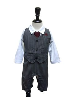 70290179e Details about Baby Boy Wedding Christening Christmas Pageant Formal Suit  Set, 0 3 6 12 18 24M