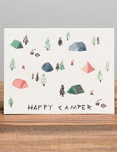 Happy Camper | Red Cap Cards