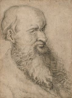 One of the most surprising drawings at the Salon du dessin will be 'Head of an Elderly Bearded Man' by Hans Baldung Grien (1484/5-1545). Find it from 22-27 March at Jean-Luc Baroni's stand.
