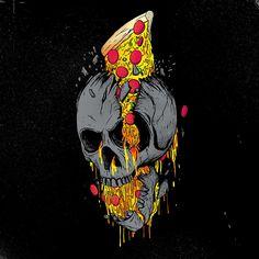 Pizza or die   by Madkobra