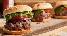 Easy Burgers... Flavorful burgers are easy...just add a sprinkle of garlic salt and pepper to the meat before shaping into patties.