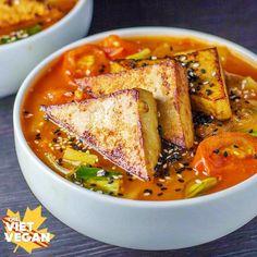 Vegan Spicy Lemongrass Noodle Soup   The Viet Vegan