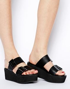 oh hey, 10th grade sandals. let's do this. again. // asos jak platform shoes.