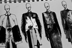 Fashion Sketchbook - fashion design drawings; fashion sketches // Peter Do