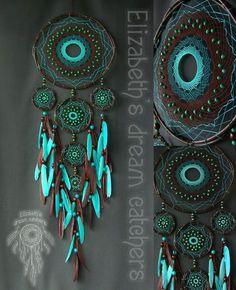 Elizabeth's dream catchers by ElizaDreamCatchers Making Dream Catchers, Dream Catcher Decor, Dreamcatchers, Dream Catcher Patterns, Hippie Crafts, Dreamcatcher Wallpaper, Dream Catcher Native American, Native American Symbols, Bubble Art