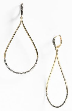Judith Jack 'Skinny' Open Teardrop Earrings available at Nordstrom