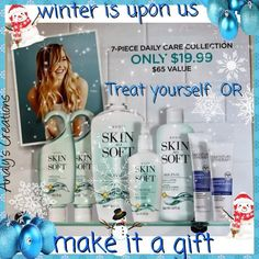 Winter is upon us! Take care of your skin! This is an absolutely amazing gift for someone or even yourself! Dry Skin, Your Skin, Avon Representative, Winter Is Here, Skin So Soft, Take Care Of Yourself, Bath And Body, Best Gifts, Coding