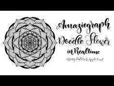 Doodle Flower in Amaziograph - iPad Pro & Apple Pencil - YouTube