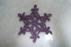 Snowflake 26-Auvergnasse by teatimelover, via Flickr