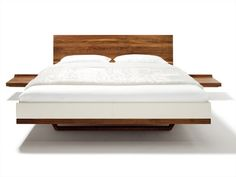 Solid wood double bed Riletto Collection by TEAM 7 Natürlich Wohnen | design Kai Stania